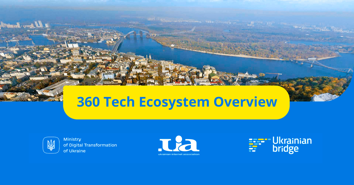 The Ministry of Finance has launched an online platform 360 Tech Ecosystem Overview with data on the Ukrainian IT ecosystem